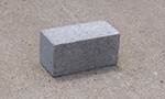 double concrete brick