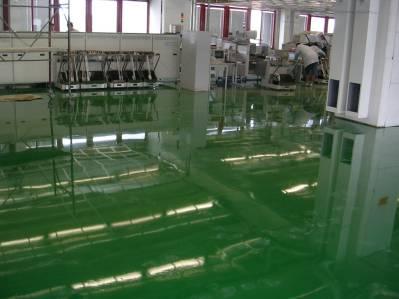 Liate epoxidové podlahy - vzorkovník RAL