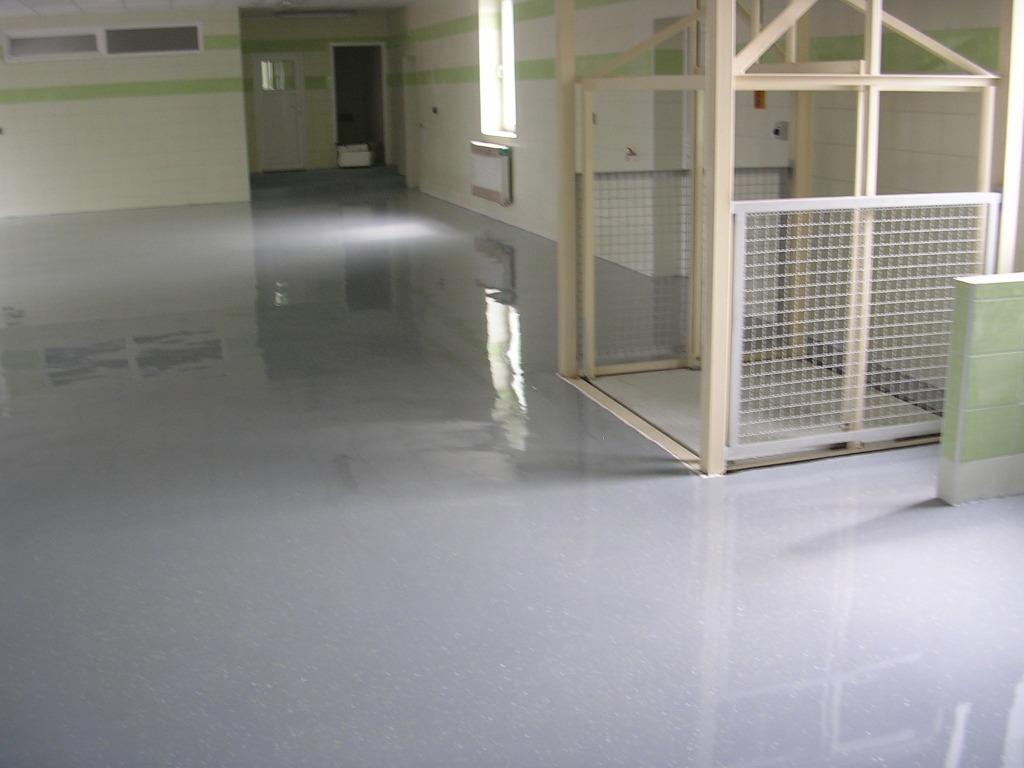 Priemyselná podlaha do skladu
