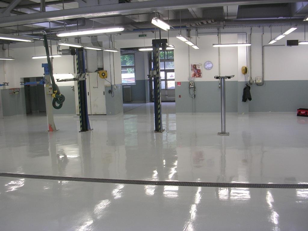 priemyselná podlaha do garáže