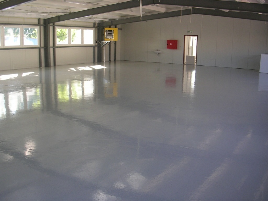 liata podlaha do dielne