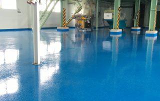 Epoxidové nátery na priemyselné podlahy