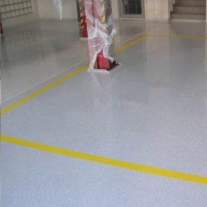 epoxidová podlaha - garáž, autoservis, Bratislava