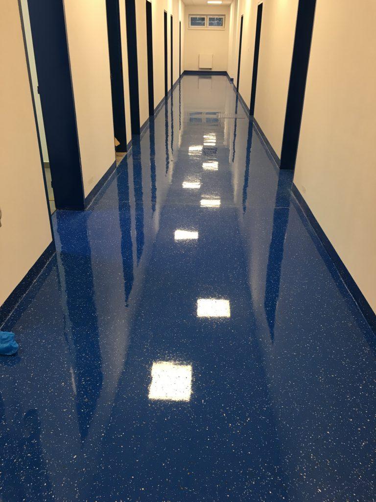 Epoxidové podlahy do interiéru - ral farby, skladba