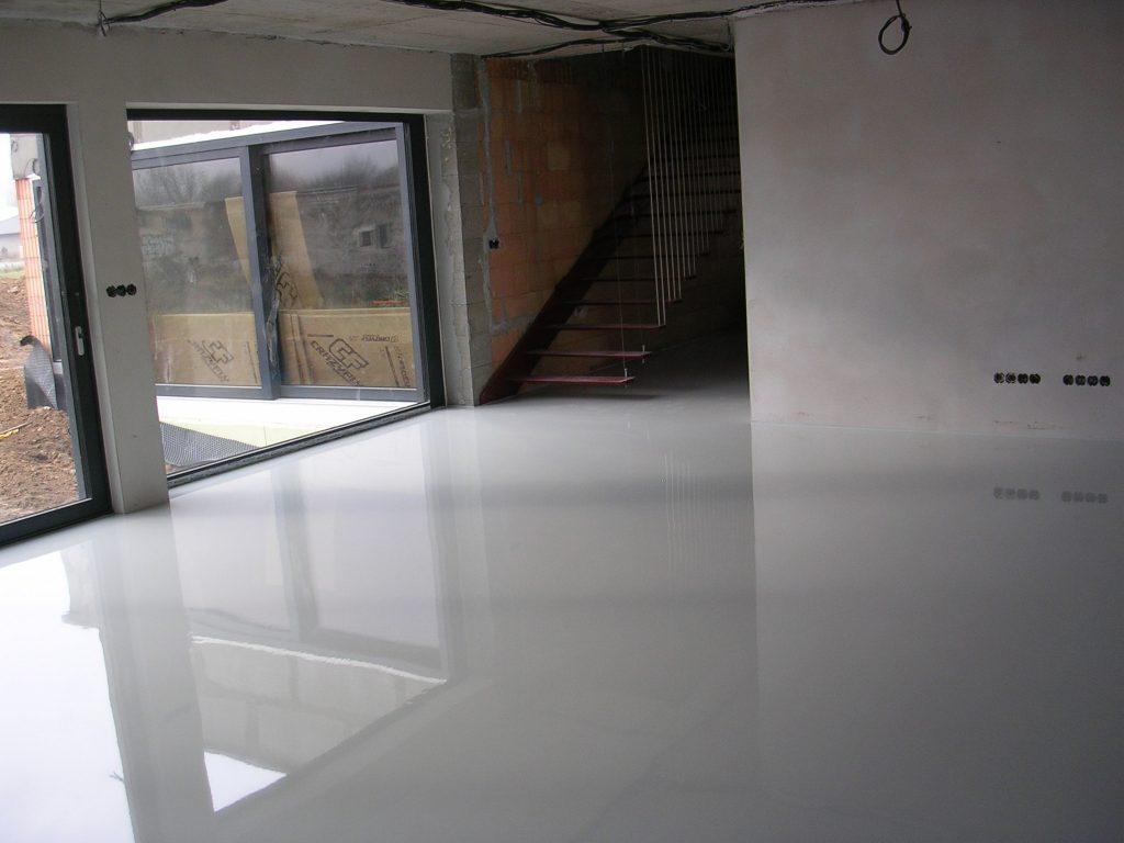 Epoxidová podlaha do rodinného domu