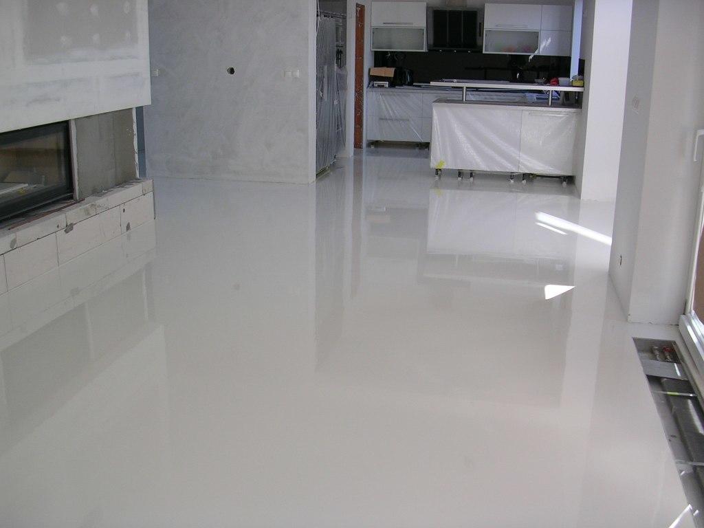 Liata podlaha do kuchyne
