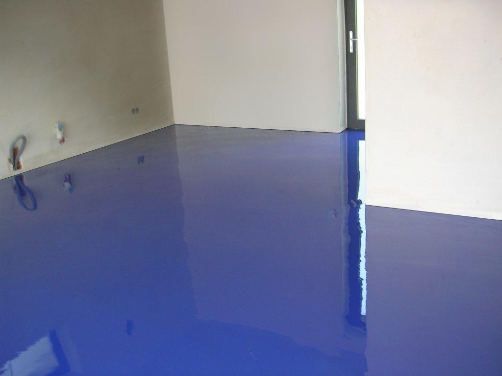 realizácia liatej podlahy v garáži - Bratislava