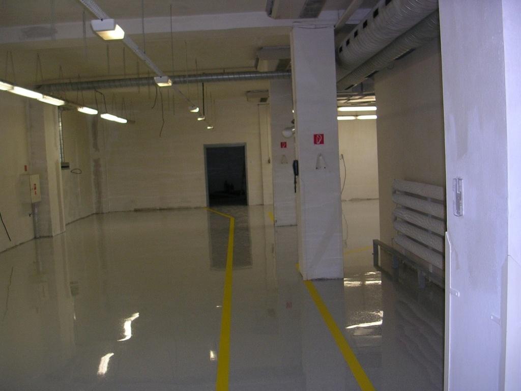 Antistatická podlaha - priemyselná, do skladu, liata
