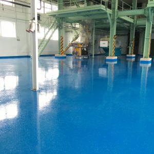 liata priemyselná podlaha