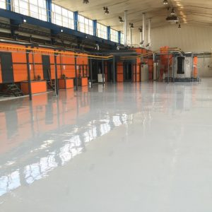 liate priemyselné podlahy